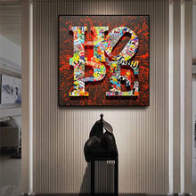 The Hope Motivational Phrase Graffiti Art Paintings Print on Canvas Art Posters and Prints Street Art Pictures Home Decoration