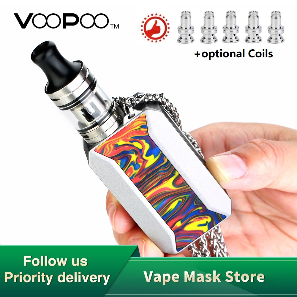 Original VOOPOO DRAG Baby Trio Vape Kit W/ 1500mAh Battery & 1.8ml Tank & PnP Coil Voopoo DRAG Baby Mod Box Vs Drag 2/ Luxe Kit