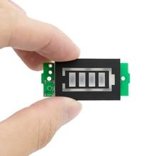 3S один 12,6 V литиевая Батарея Ёмкость индикатор модуль 4,2 V Синий Дисплей по созданию электрических транспортных средств Батарея Мощность тестер литий-ионный аккумулятор