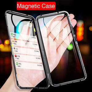 Image 2 - Magnetic Adsorption Flip Phone Case For Samsung Galaxy A51 A21s A71 A70 A30s M30s A50 Back Cover on Samsun A 50 A 51 Case Magnet