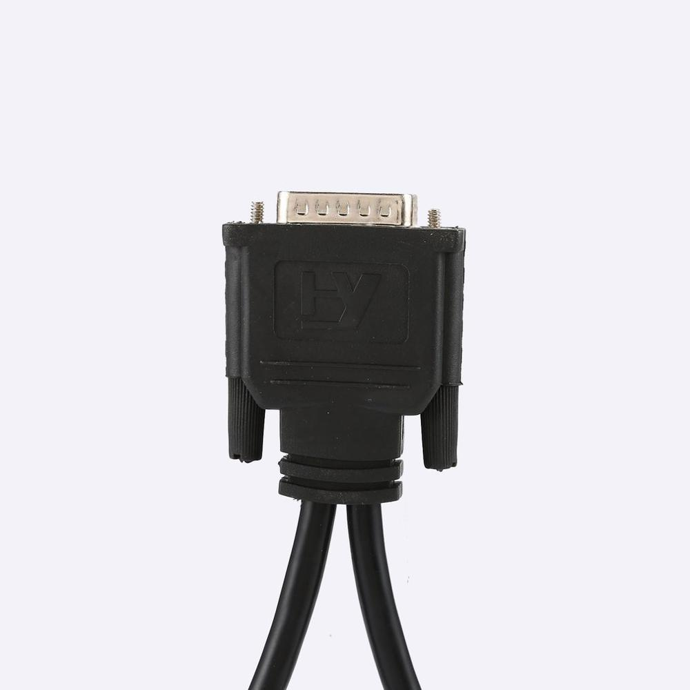 DMS 59 Splitter Cable 8in DMS-59 To 1 X DVI&1 X VGA Y Cable DMS 59 To VGA Monitor Splitter Cable DMS59 Cable