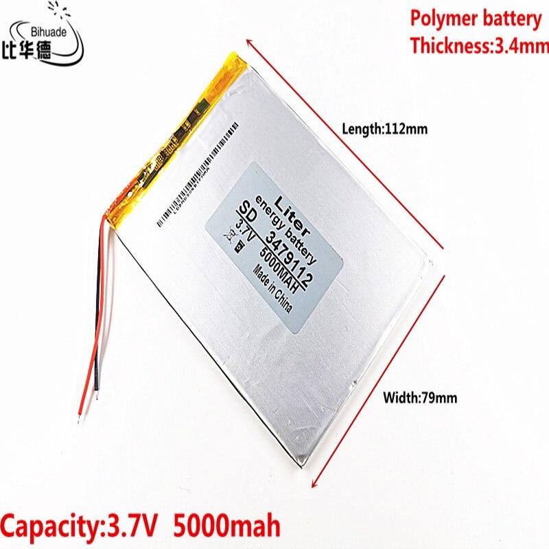 Batería de polímero de 9 pulgadas, batería de tableta doméstica, batería recargable integrada 3,7 V 5000 mah 3479112, envío gratis La más alta lúmenes, la más potente linterna LED XHP90 de largo alcance con Zoom táctico XHP70.2, lámpara de antorcha LED con batería 26650 de gran alcance
