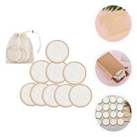 Juego de almohadillas lavables de fibra de bambú para la eliminación de polvo, 1 unidad