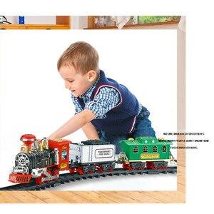HIINST новый пульт дистанционного управления Транспортная Машина Электрический паровой дым RC поезд набор модель игрушка подарок игрушка желе...