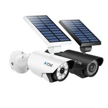 Simulation Dummy Camera Solar Light Fake Solar Power Outdoor Indoor Home Security Surveillance CCTV Camera Bullet Waterproof LED