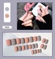 Накладные ногти для украшения кончиков ногтей Пресс на накладные с набор дизайнов полное покрытие из искусственного короткого упаковка по...