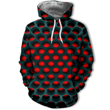 New Men Hoodie Green signal light Print Hooded  Geometric 3D men/woman tees High quality Brand Jacket with hat