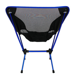 Image 3 - Free Shipping car Outdoor Stack Portable Foldable Stool Fishing Thickened Beach Camping Chair LOAD 145KG