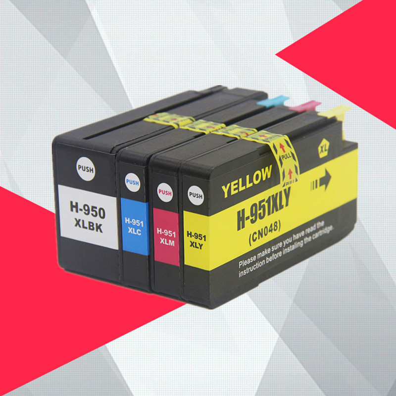 Совместим с чернильными картриджами HP 950XL 951XL 950 951 Officejet Pro 8100 8600 8610 8615 8620 8625 251dw 276dw для HP950