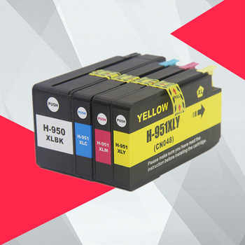 Compatible For HP 950XL 951XL 950 951 Ink Cartridges Officejet Pro 8100 8600 8610 8615 8620 8625 251dw 276dw for HP950 - DISCOUNT ITEM  5 OFF Computer & Office