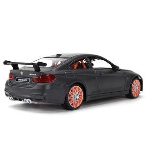 Image 3 - Maisto voiture de sport, jouet, voiture de sport, moulé sous pression statique, modèle à collectionner, BMW M4 GTS, 1:24