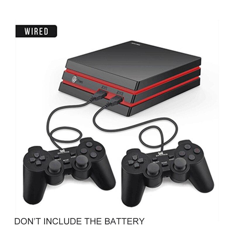 Игровая консоль-лягушка с 2,4G беспроводным контроллером HDMI, видео игровая консоль 600, классические игры для GBA family tv, Ретро игры - Цвет: Wired