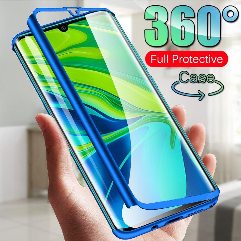 360 Полное покрытие ударопрочный защитный чехол для Xiaomi Redmi mi Note 10 Pro 9T A2 A3 mi 9 Lite 8 SE Note 8 7 5 6 Pro K20 4A 5A 6A