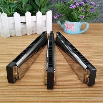Armónica de 24 agujeros, llave de trémolo, instrumento Musical de armónica diatónica,...