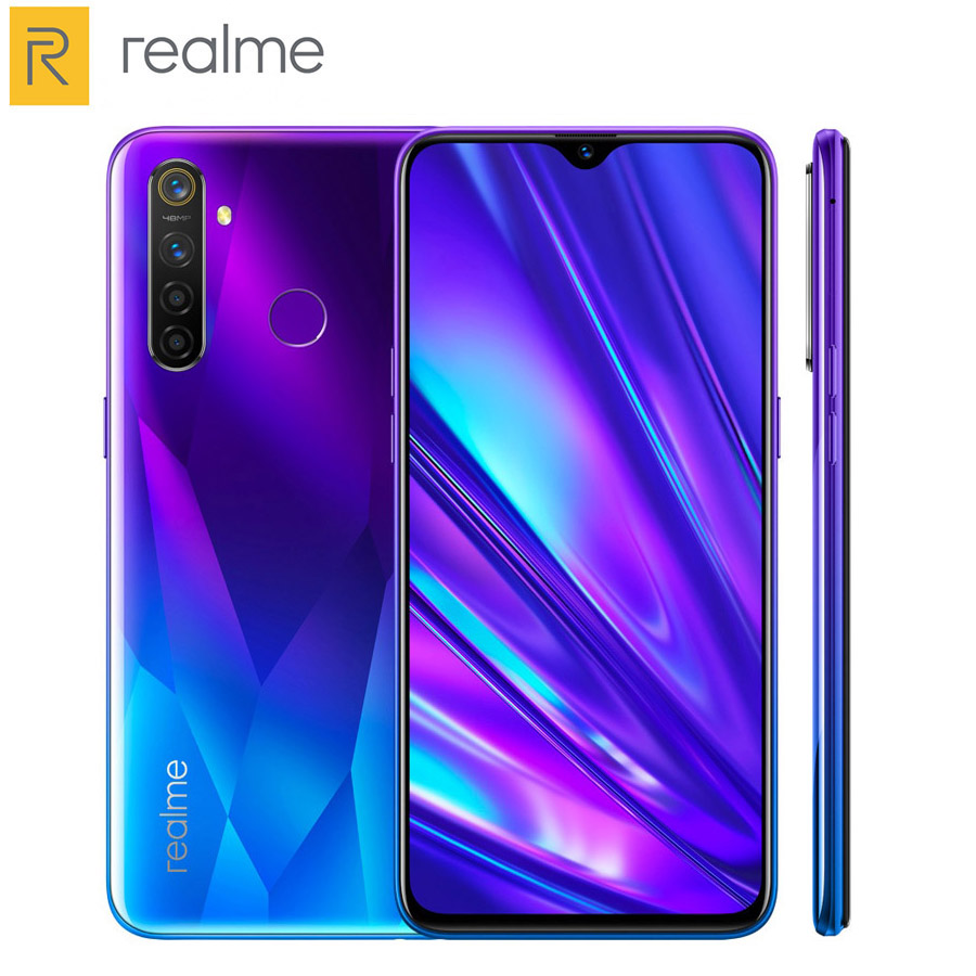 Original EU Version Realme 5 Pro Dual SIM Mobile Phone 6.3