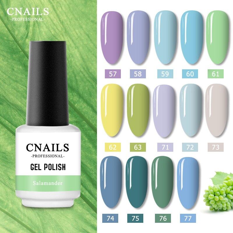 CNails Nail High Quality Nail Gel Polish UV Gel Base Coat Top Coat Varnish Color Gel Nail Gel Nails Art Manicure Sock Off