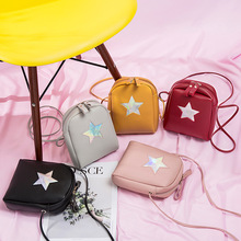 wholesale Fashion Small Women Leather Bucket Bag Handbag Tassel Drawstring Shoulder Bag Messenger Crossbody Bags Purses vintage hollow out flower envelope bag small women leather crossbody bag shoulder bag messenger bag clutch handbag purses