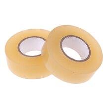 2 pcs Premium PVC Clear Hockey Tape for Ice Hockey Socks & Shin Guards