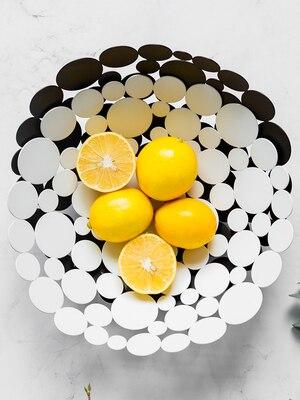 Ménage lumière luxe fruits plaque personnalité créative style nordique salon Table basse décoration plateau moderne - 2