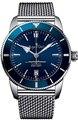 Роскошные брендовые новые черные синие керамические автоматические механические мужские часы из нержавеющей стали спортивные кожаные рез...