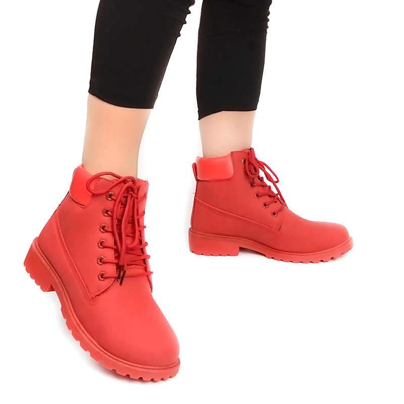 Fujin kış çizmeler kadın ayakkabıları 2019 sıcak kürk peluş ayakkabı kadın kar botları kışlık botlar kadın Botas Mujer kadın yarım çizmeler
