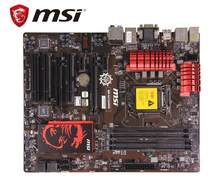 Originele moederbord MSI B85-G43 GAMING LGA 1150 DDR3 boards 32GB USB2.0 USB3.0 I3 I5 I7 B85 gebruikt Desktop Moederbord(China)