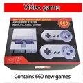 Klassische Mini Edition Konsole Unterhaltung System Kompatibel mit Super Nintendo Spiele Retro Handheld Mini Video Spiel Konsole