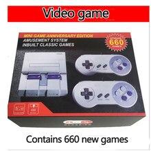 Klasyczny System rozrywkowy Mini Edition kompatybilny z Super konsolą Nintendo Games Retro przenośna Mini gra wideo