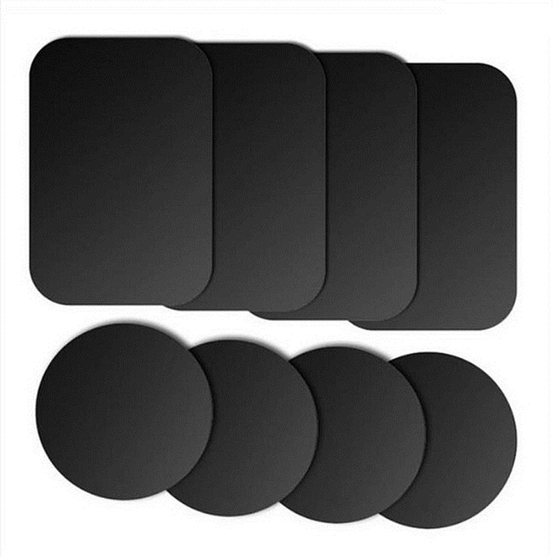 Syrinx Metal Plate Magnet Mobile Stand Universal Replacement Metal Plate Kit With Adhesive For Magnetic Car Mount Phone Holder