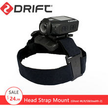 Originele Drift Head Strap Mount Voor Ghost-4K/X/S Stealth-2 Gopro Xiaomi Yi 4K Action Camera Sjcam eken Sport Camera Accessoires(China)