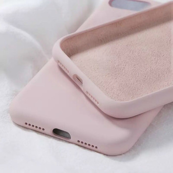 Original Candy Liquid Silicone Case For IPhone 6 6S 7 8 Plus X XR XS Max Shockproof Soft Phone Cases For Iphone 11 Pro MAX Cover image