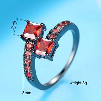 Luxury Starry Star Fashion Rings 5
