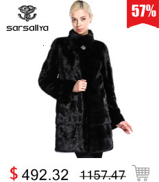 Real Fur Coat Mink Women Winter Natural Fur Mink Coats And Jackets Female Long Warm Vintage Women Clothes 2019 Plus Size 6XL 7XL 66