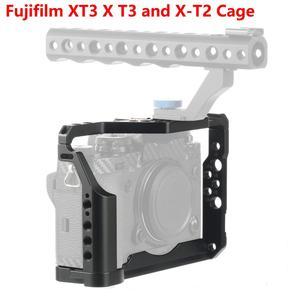 Image 1 - Cncアルミデジタル一眼レフケージ富士フイルムXT3 × T3とX T2カメラハンドルグリップケージアクセサリーvs tilta smallrig
