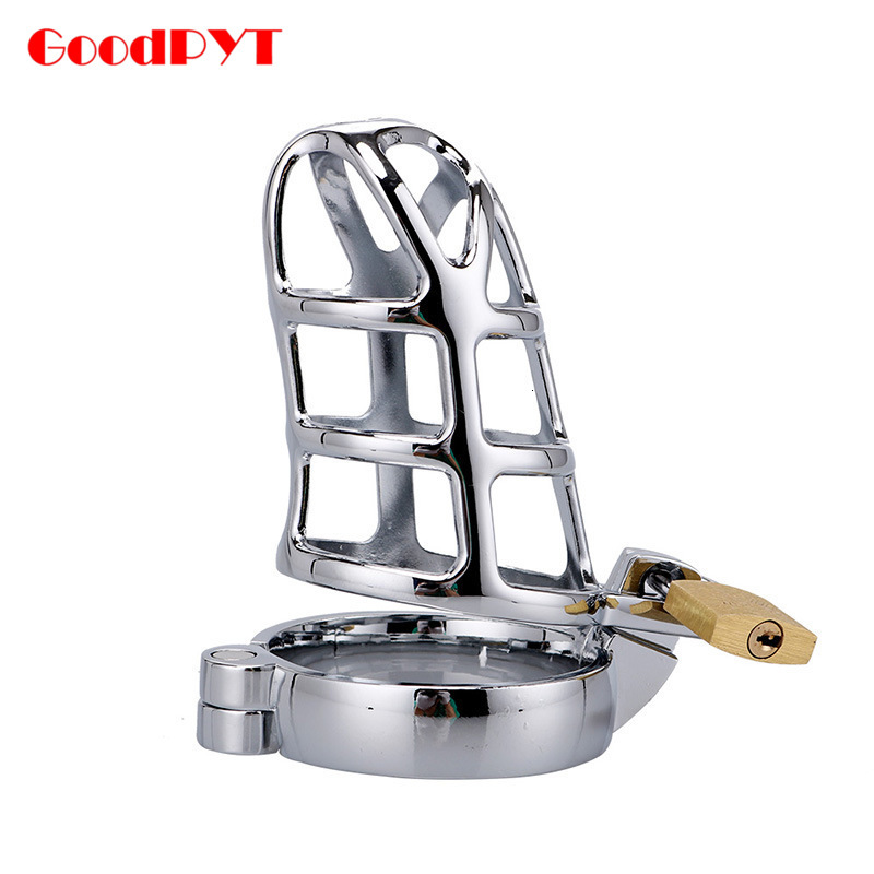 Bird Size 40/45/50mm Cage Male Chastity Device CB6000 Metal Cock BDSM Bondage Penis Ring Lock Restraint Sex Toys For Men Adult