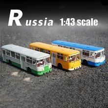 1:43 Scale Alloy Bus SSM LIAZ 677m Bus Simulation Metal Diec