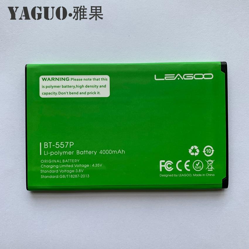 100% Original High Quality BT-557P Battery 4000mAh Replacement For LEAGOO Elite5 Elite 5 BT-557P Backup Batterie Batteria