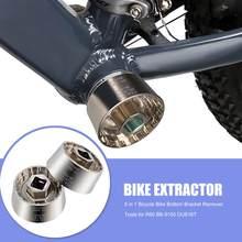 5 en 1 vélo support de pédalier outils de réparation vélo axe extracteur extracteur pour R60 BB-9100 DUB16T FSA386
