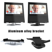 Aluminum Bracket Horizontal 360 Rotation Skidproof Stand for Echo Show Home Speaker VDX99(China)