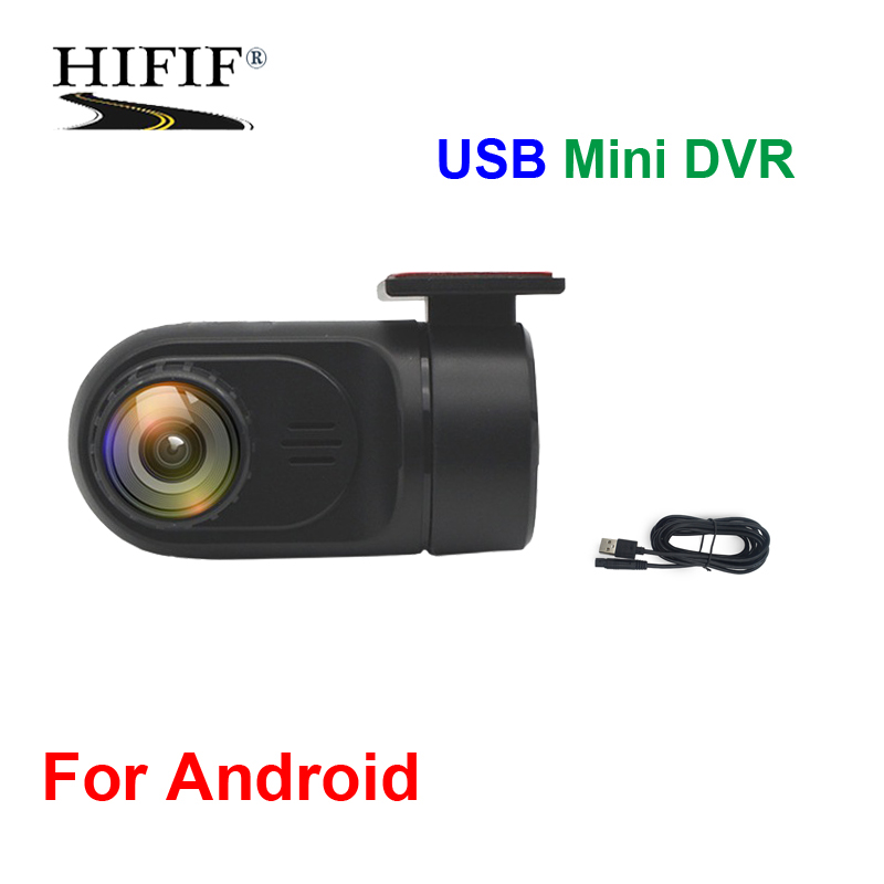 DVR/USB DVR Camera For Android systems car DVD/Built-in apk Record Car Styling Wide Angle USB With TF