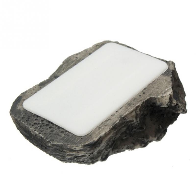 FFYY-Key Safe Stash Hollow Secret Hidden Funny Muddy Rock Stone Case Box Home Garden Decor Security Gift