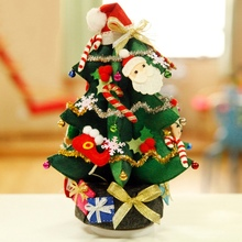Christmas Ornaments Cake Needle Felting Kit Felt Non-Woven Hand-Made Crafts Handmade Pendant