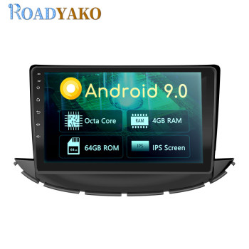 9'' Android Car Radio DVD Player GPS Navigation Multimedia For Chevrolet TRAX 2017- 2019 Stereo Autoradio Car Fascia Frame 2 Din image
