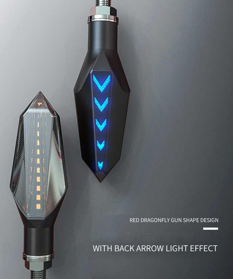 Clignotant موتو LED بدوره اشارات الدراجات النارية اكسسوارات ل honda فرس سوزوكي drz400 yamaha fz6n ابريليا rsv4 rr bmw r1100rt
