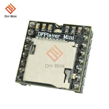 5Pcs DFPlayer Mini MP3 Player Module Voice Decode Board for Arduino Support TF Card U-Disk IO/Serial Port/AD DIY Electronics