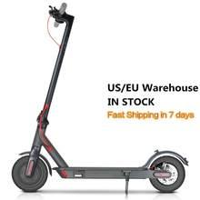 Scooter électrique 7.8Ah 25KM Gamme 350W Sport Pliable Avec Application Intelligente/LED Affichage UE/NOUS EN STOCK Expédition Rapide