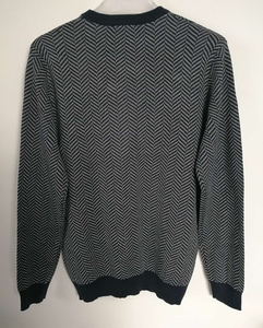 Image 3 - 2019 Fall Winter Men Merino Wool Sweater Thick Warm Pullovers Crew Neck Merino Wool Sweater Pull Homme European Size S 2XL