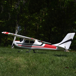 Image 4 - Cessna HJW182 1200mm Wingspan EPO Trainer Beginner RC Airplane Kit  For RC Models Remote Control Toys