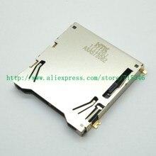 Novo sd slot para cartão de memória titular para nikon d850 slr câmera digital reparação parte