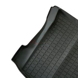 Image 5 - TPE Before rear  Cargo Tray Trunk Floor Mat Black Rubber Waterproof for Tesla Model 3 2017 2018 2019